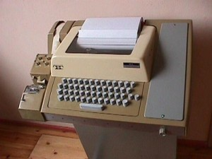 ASR33 (Automatic Send-Receive) TeleType 500