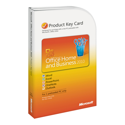 microsoft office home & business 2010 pkc